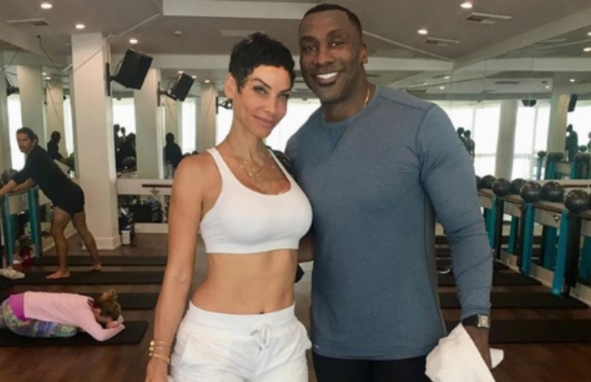 Shannon Sharpe Shoots His Shot With Nicole Murphy at Last
