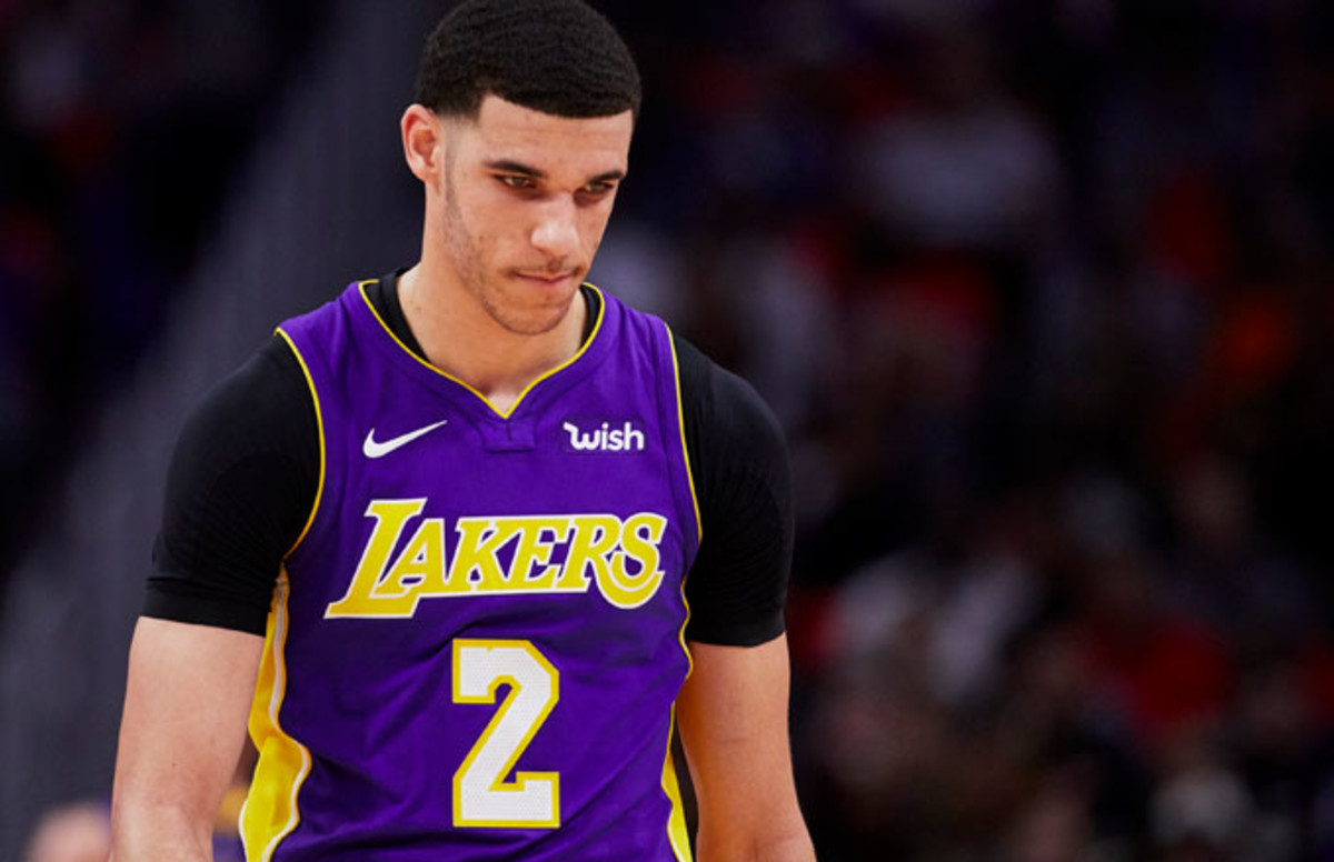 ab9374ee261 Lonzo Ball's Girlfriend Denise Garcia Appears to Shade Him on Instagram  Over His Role as a Father