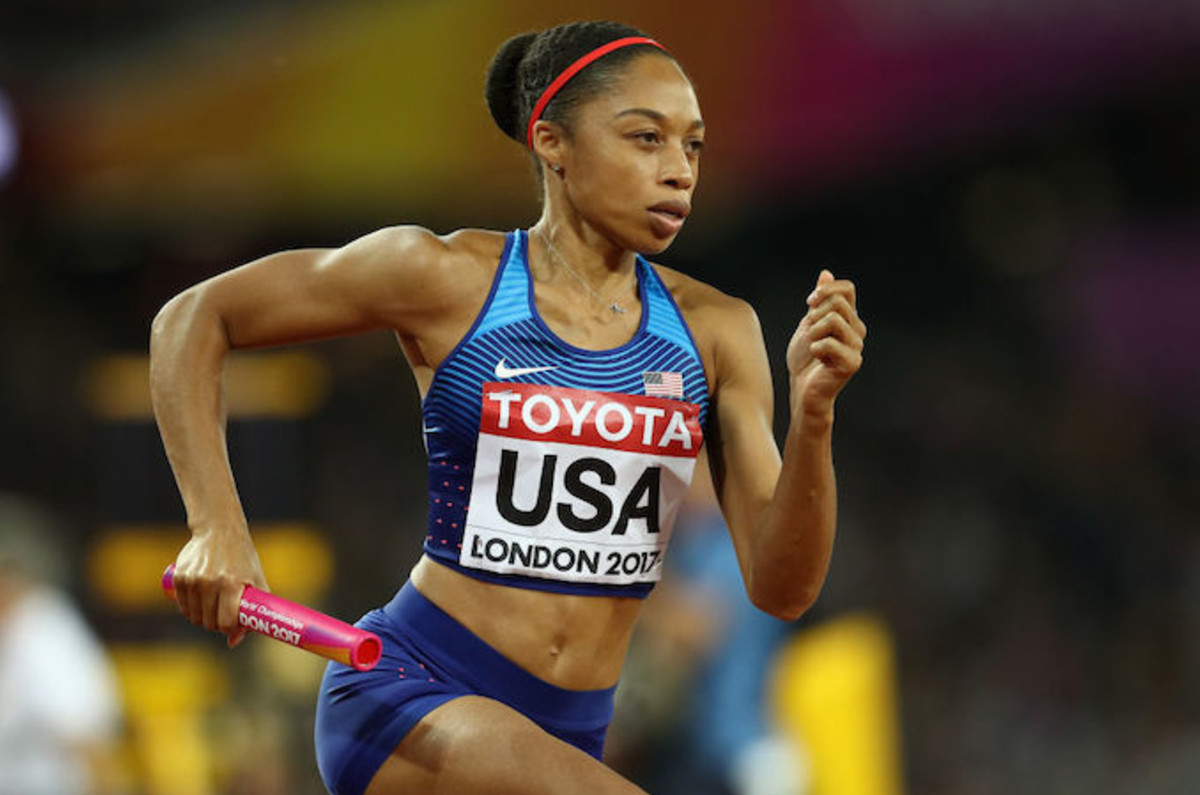 b0671fdf8d9c0 Olympian Allyson Felix Pens Op-ed About Her Nike Contract After Requesting  Maternity Prote | Complex