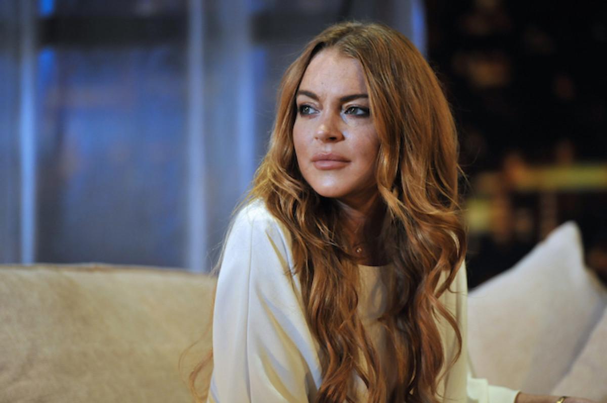 Lindsay Lohan Gets Pun...