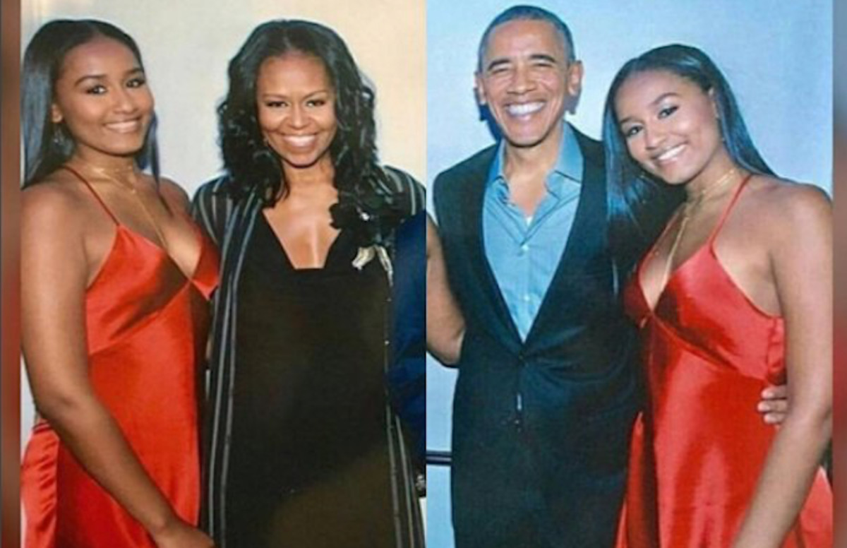 Twitter Is Stunned To Find Out That Sasha Obamas First -8653
