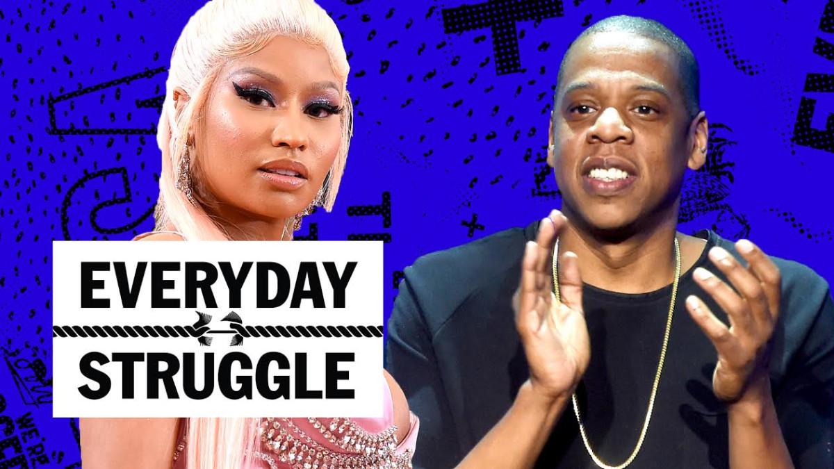 Jay-Z Upset w/ Kaepernick?, Meek Mill's Top 5, Nicki's Flowers Long Overdue? | Everyday Struggle - Complex