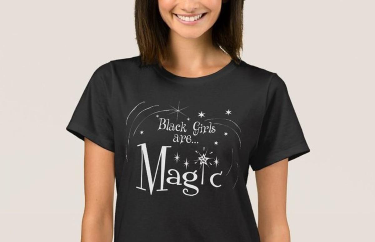 86d889eb0 Online Store Promotes 'Black Girl Magic' Shirts Using White Models ...