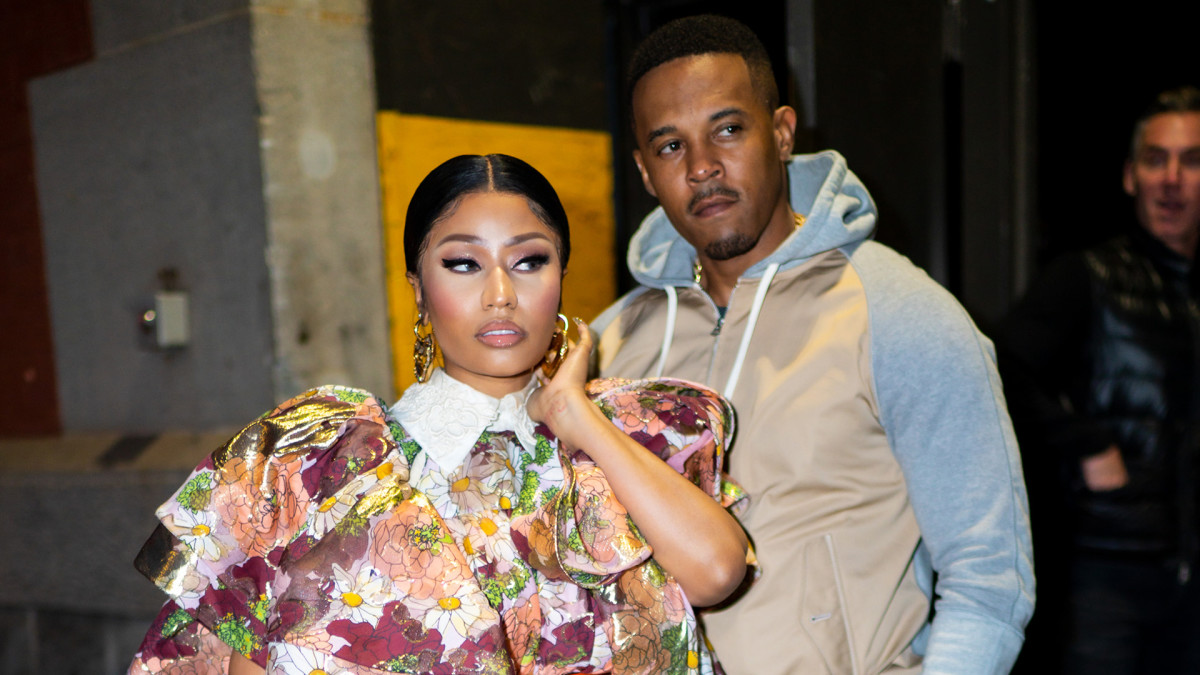 Nicki Minaj on Husband Being Covered by Media Following Carnival Incident: 'Rappers Would Kill for This Attention'