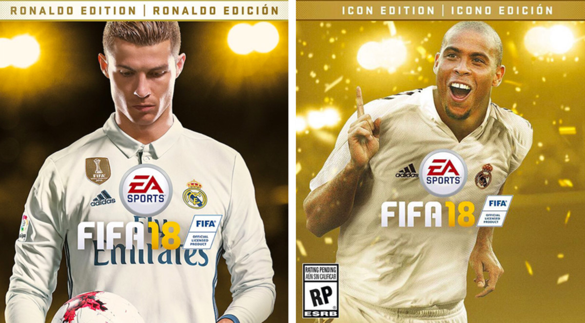 the original ronaldo just announced that he 39 s the other cover star for fifa 18 complex