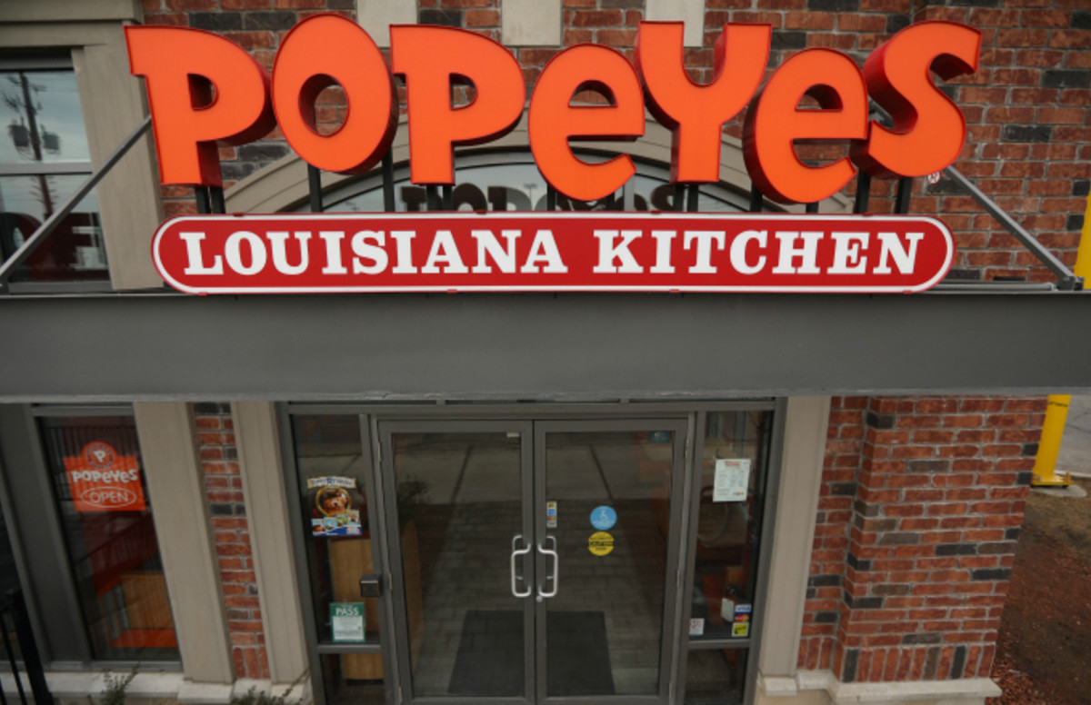 popeyes chicken.'