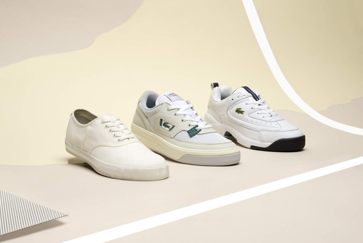 LACOSTE's Heritage Pack Reissues a Three-Peat of Classic Silhouettes