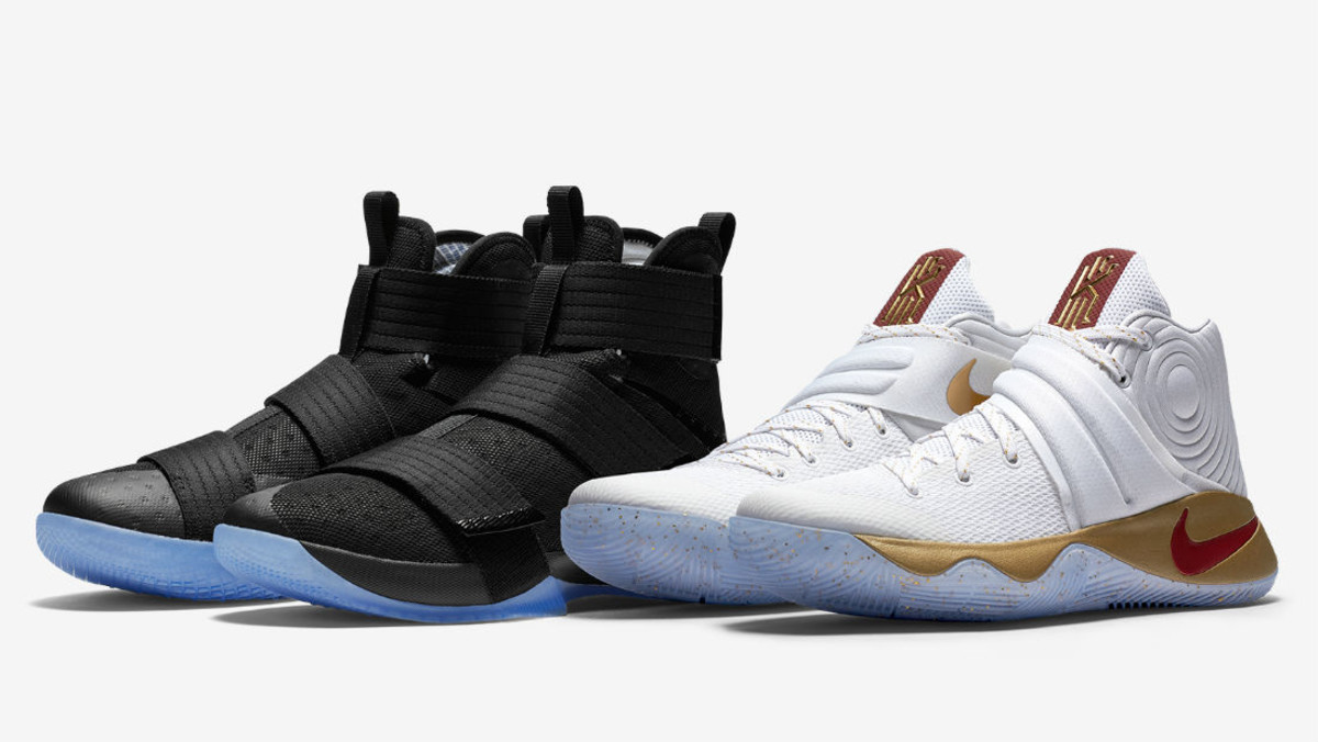 buy online 1ad38 8fa18 Nike Basketball Four Wins Pack Nike LeBron Soldier 10 & Nike ...
