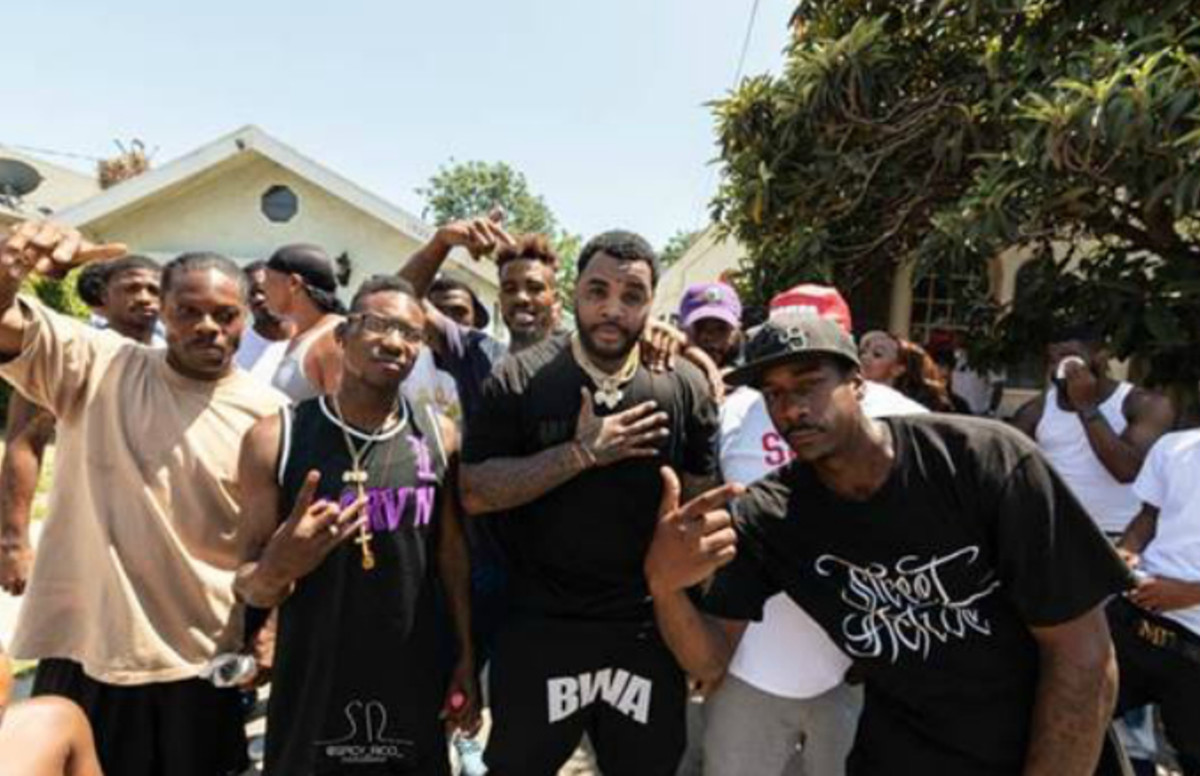 Kevin Gates Pulls Up to Watts for