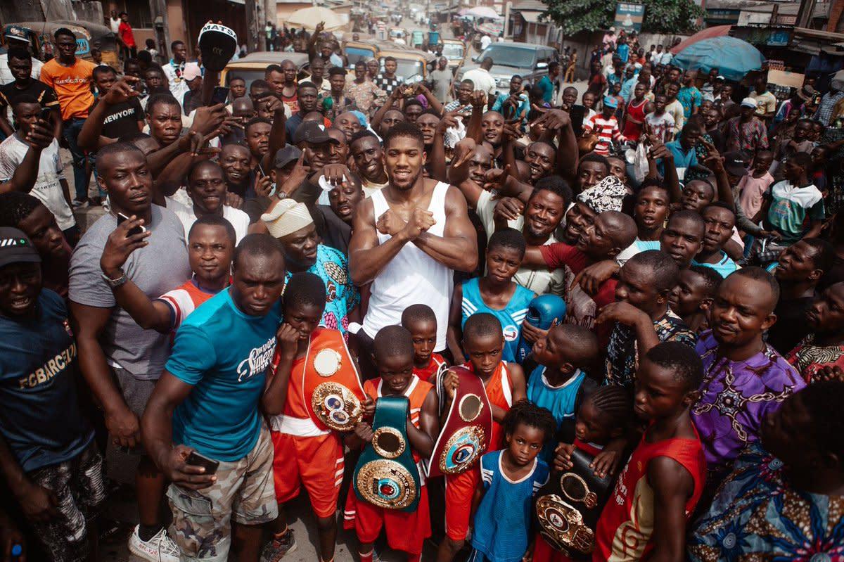 Resultado de imagen para ANTHONY JOSHUA NIGERIA DOC