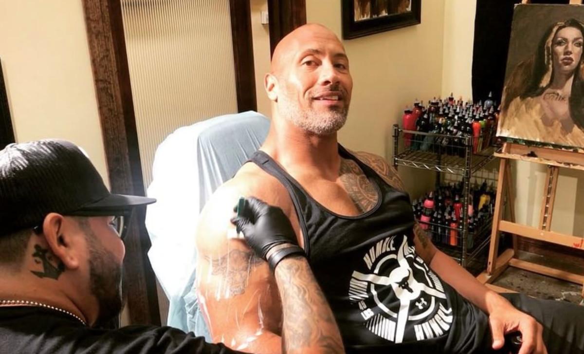 Dwayne Johnson Tattoo 2019: Dwayne 'The Rock' Johnson Gets Deep On His Badass Bull