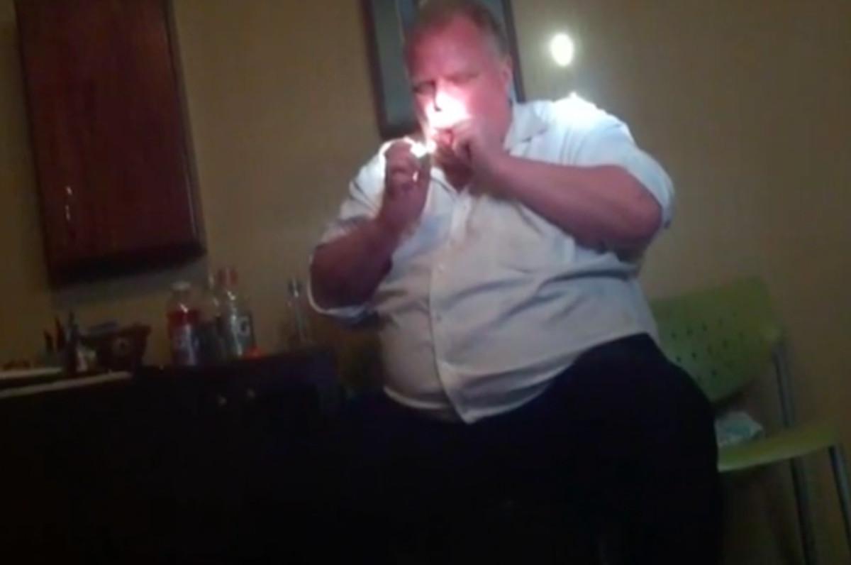 Video Of Former Toronto Mayor Rob Ford Smoking Crack