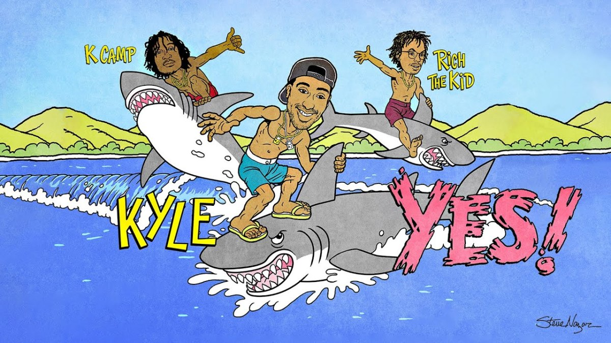 "KYLE Teams Up With Rich the Kid and K Camp for ""YES!"""