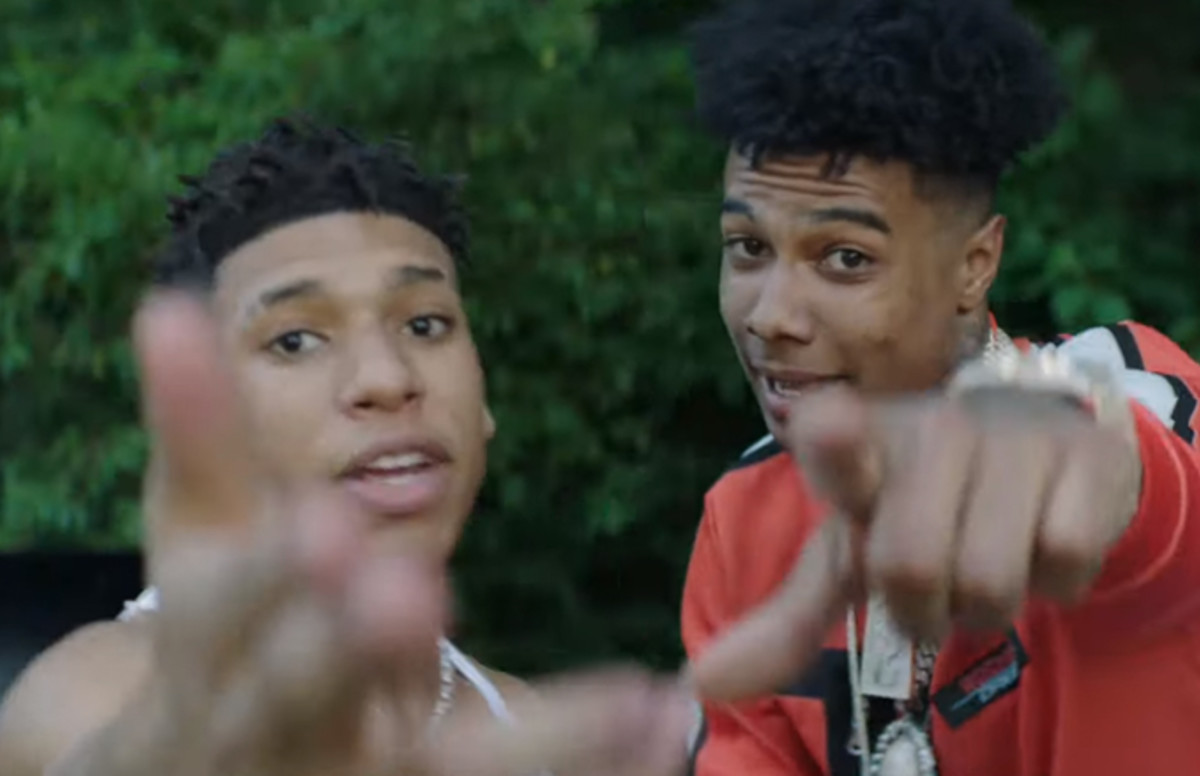 16-Year-Old Rapper NLE Choppa Recruits Blueface for