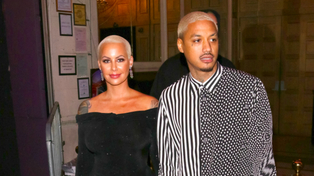 Amber Rose and AE Get Forehead Tattoos Dedicated to Their Kids and People Have Thoughts