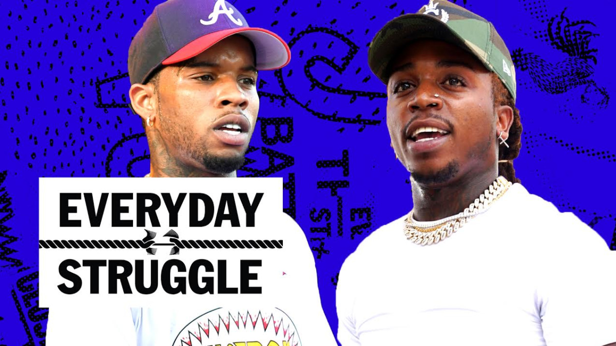 Jacquees Says He's Top 5 in R&B, Tory Lanez Fight, Rocky to Perform in Sweden?   Everyday Struggle - Complex