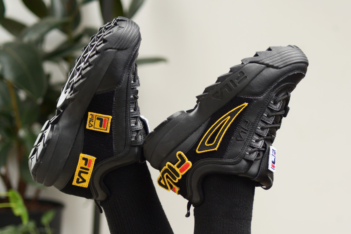 FILA's Disruptor 2 Patches Are the Ultimate Customizable