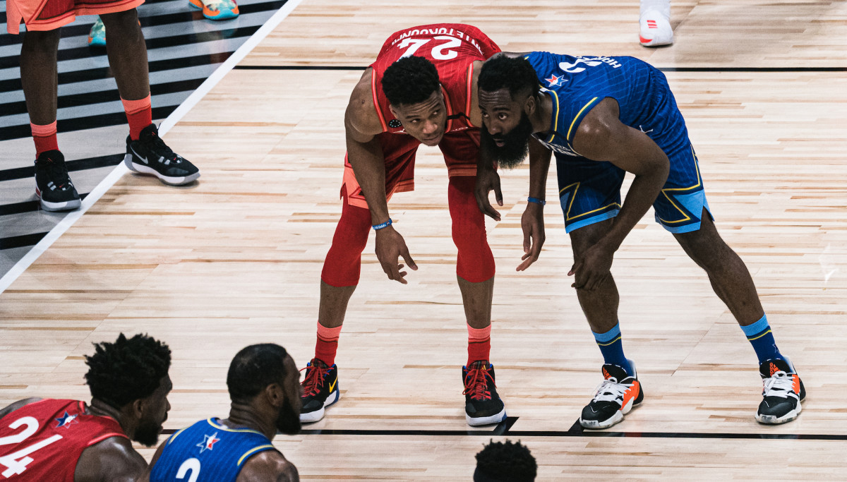 James Harden Calls Out Giannis Antetokounmpo After All-Star Game Comments