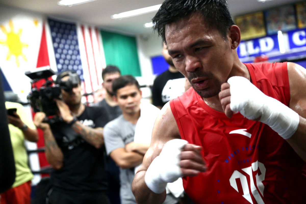 Manny pacquiao training camp hollywood 2019