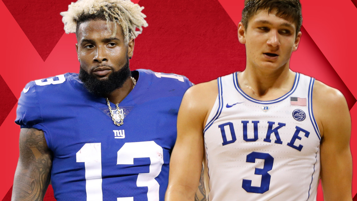 save off 9387a b7c04 Odell Beckham Jr. Drug Drama; Sherman Switches Sides; Most Annoying Duke  Players | Out of Bounds