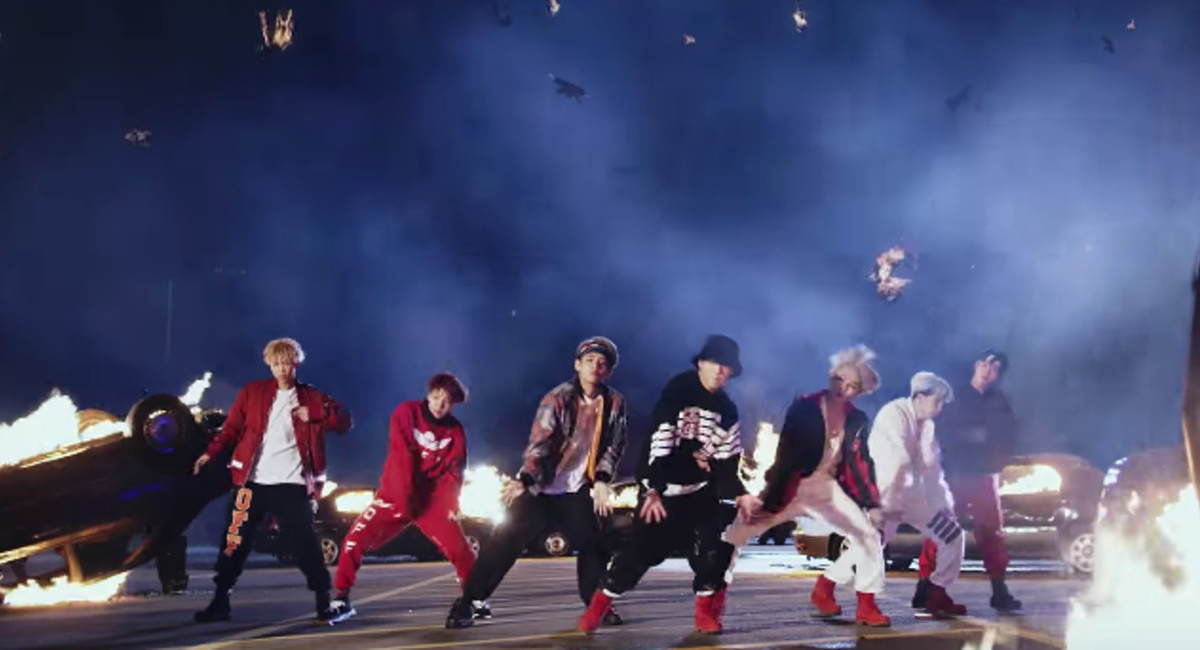 K-Pop Group BTS Release Steve Aoki-Remixed