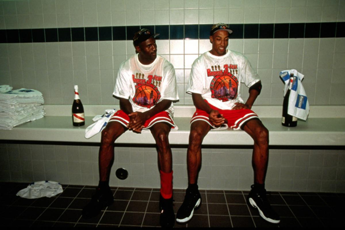 78c39ed39e Scottie Pippen Said He and Michael Jordan Weren't Cool in the Beginning