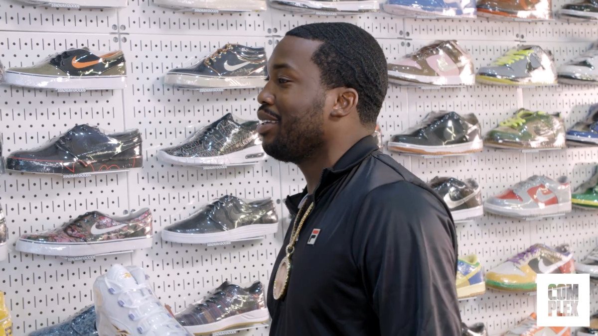 on sale 84ad0 70a0b Meek Mill Explains Why Allen Iverson Is So Important to Philly   Complex