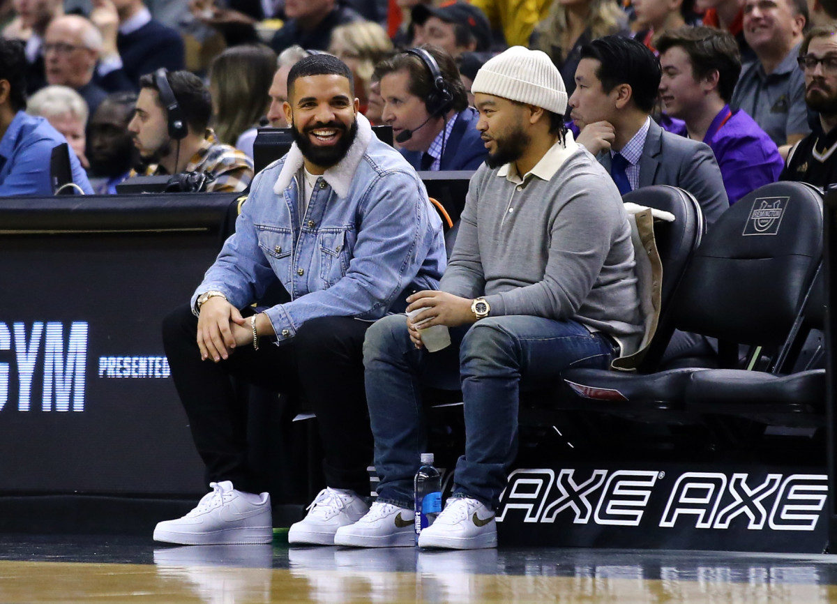 Drake Jokingly Trash Talked Justin Bieber and Quavo While Doing Raptors Commentary