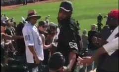 Raiders fan punches other Raiders fan.