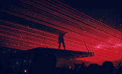 """Kanye West Perfoms """"Fade"""" At Madison Square Garden"""