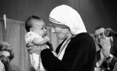 Mother Teresa with Child