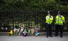 Memorial for Woman Stabbed in London