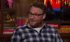 Seth Rogen compares Bieber and Bloom body parts.