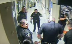 Vachel Howard LAPD video