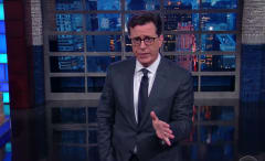 Colbert keeps it real on 'The Late Show.'