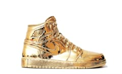 Matthew Senna Gold Air Jordan 1