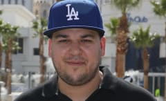 Rob Kardashian at Sky Beach Club
