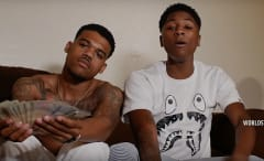 "NBA YoungBoy's ""Kickin Shit."""