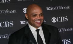 Charles Barkley laughs.