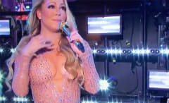 Mariah Carey New Year's Eve performance