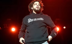 This is a photo of J. Cole.