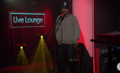 """This is Chance the Rapper performing """"All We Got"""" on BBC Radio 1 Live Lounge."""