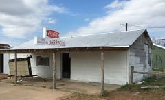 A photo of the gas station becoming a Texas Chainsaw Massacre themed hotel in Texas.