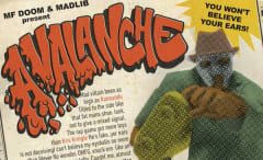 "This is Madlib and MF Doom's ""Avalanche"" single art."