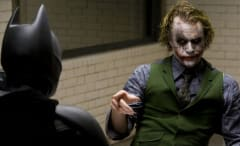 Heath Ledger in 'Dark Knight'