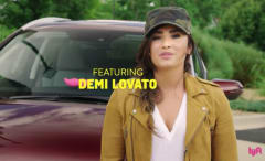 This is Demi Lovato's episode of Undercover Lyft.