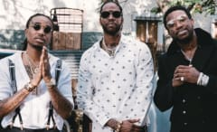 2 Chainz, Gucci Mane, and Quavo.