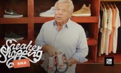 Robert Kraft Sneaker Shopping