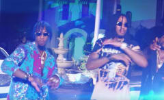 "This is DJ Stevie J and Migos' video for ""Heard Ah That."""