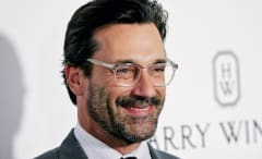 Jon Hamm at a Hollywood movie premiere
